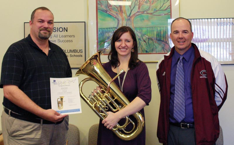 Congratulations to Teresa Dwyer, Winner of a New Anthem Euphonium!