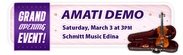 Amati Fine Instruments and Bows Demo!