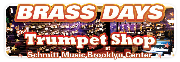 Brass Days at The Trumpet Shop, Schmitt Music Brooklyn Center