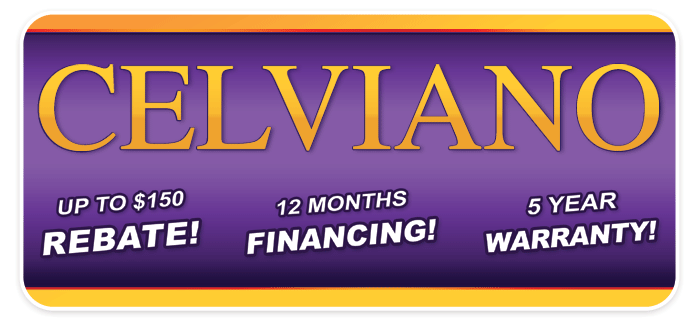 Special Financing and Rebates on Celviano digital pianos!