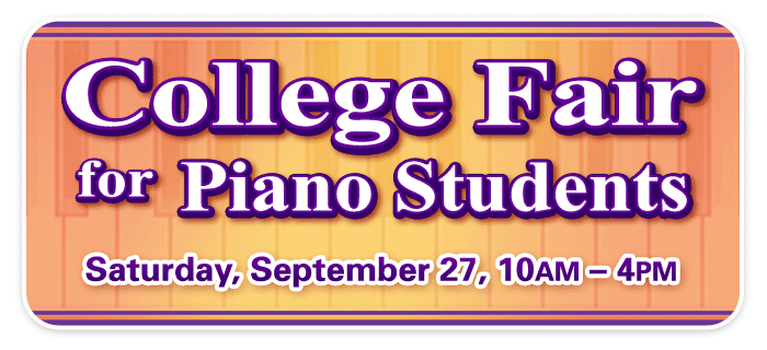 College Fair for Piano Students at Schmitt Music Kansas City