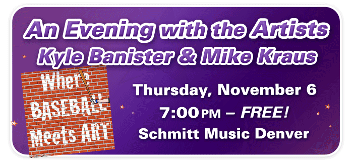 An Evening with the Artists featuring Kyle Banister and Mike Kraus at Schmitt Music Denver!