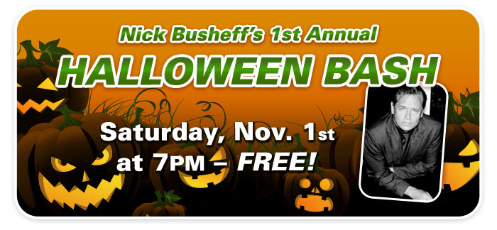 "Nick Busheff's 1st Annual ""Halloween Bash"" at Schmitt Music Denver!"