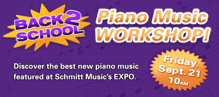 Free Piano Music Workshop at Schmitt Music Duluth!