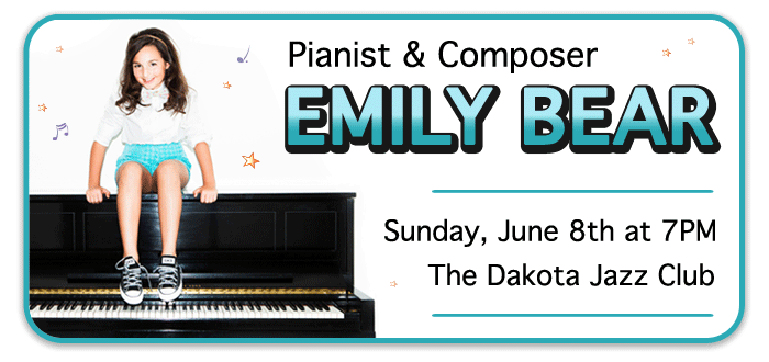 Emily Bear at The Dakota Jazz Club in Minneapolis – WIN TICKETS!