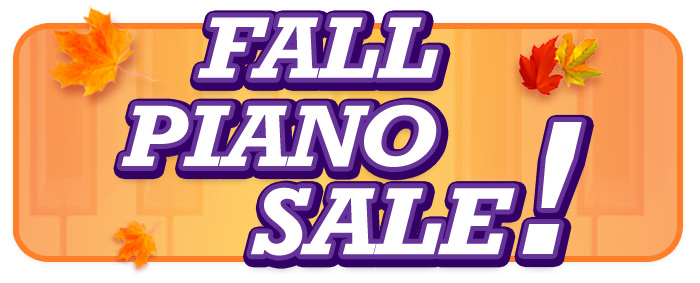 Fall Piano Sale at Twin Cities Schmitt Music Stores!