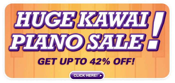 Huge Kawai Piano Sale at Schmitt Music stores in Kansas and Nebraska!