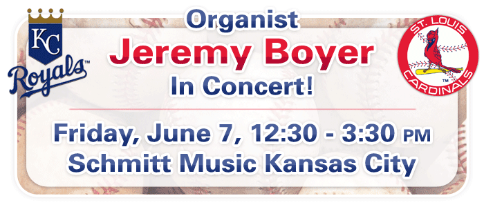 Take Me Out To The Ball Game feat. Jeremy Boyer at Schmitt Music Kansas City
