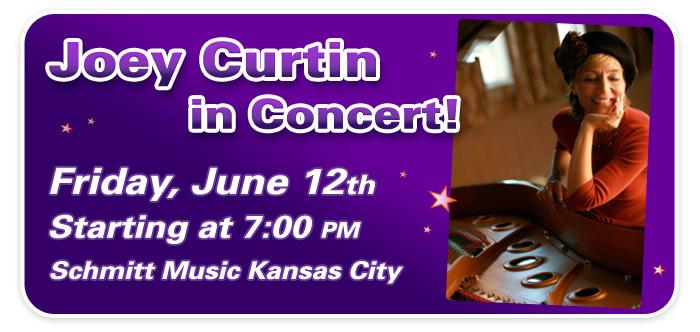 Pianist Joey Curtin in Concert at Schmitt Music Kansas City!