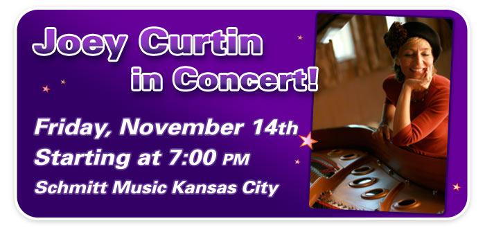 Joey Curtin performance at Schmitt Music Kansas City