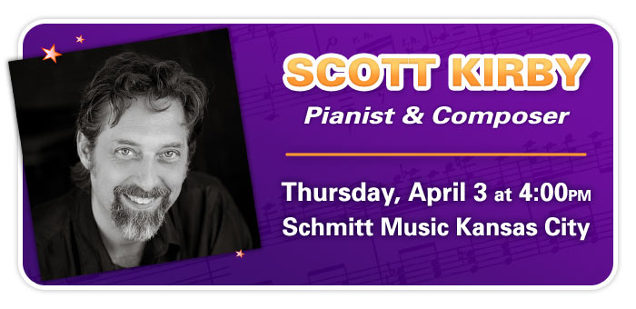 Scott Kirby Ragtime Piano Workshop & Live Performance at Schmitt Music Kansas City!