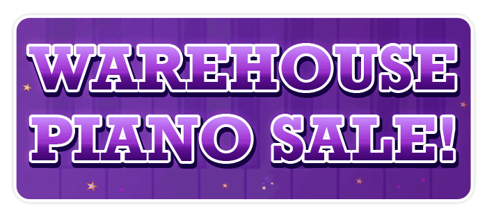 Piano Warehouse Sale at Schmitt Music Denver through Labor Day!