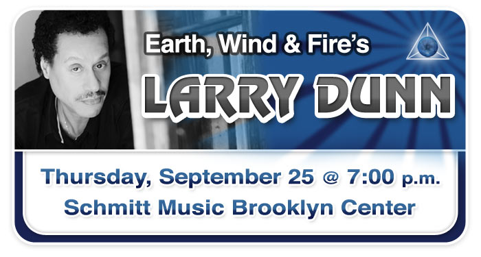 Larry Dunn Workshop & Performance at Schmitt Music Brooklyn Center!