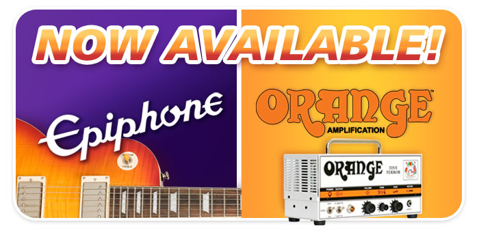 Epiphone Guitars & Orange Amplification at Schmitt Music!