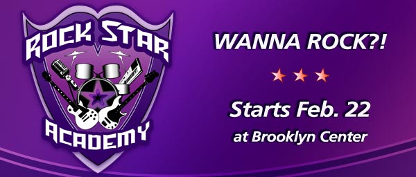 Rock Star Academy Comes to Brooklyn Center!