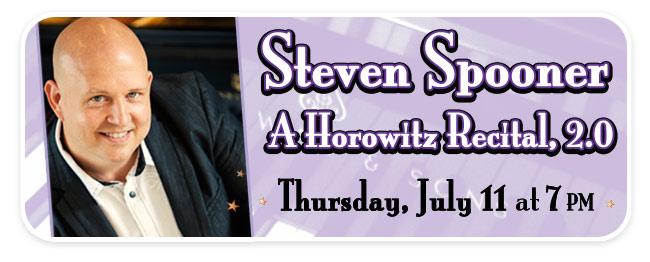 Concert Pianist Steven Spooner plays the Horowitz Steinway at Schmitt Music Kansas City!