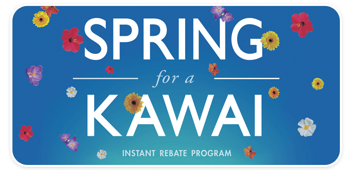 Spring for a Kawai Instant Rebates!  Get up to $1000 BACK!