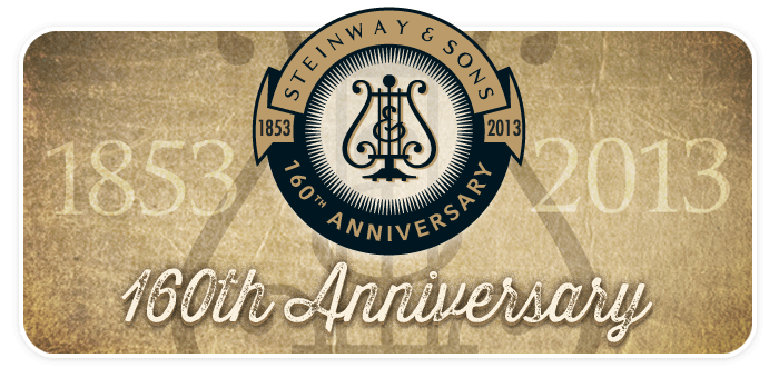 Schmitt Music Applauds Steinway & Sons' 160th Anniversary!