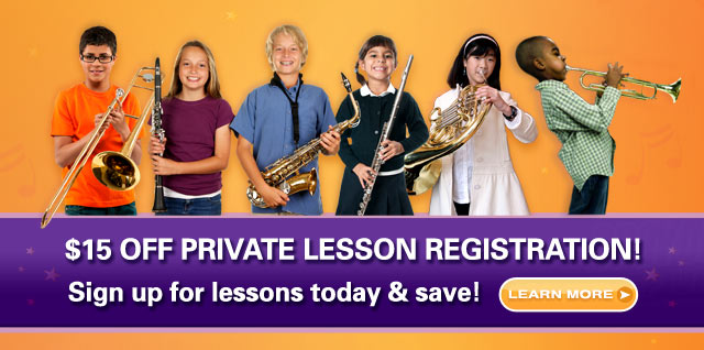 SIGN UP NOW for Summer Music Lessons!
