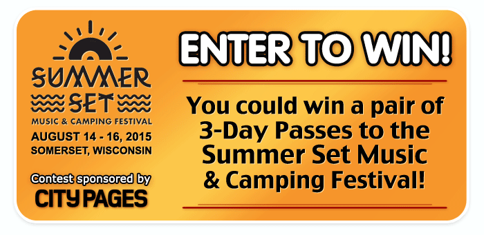 Win a pair of 3-DAY PASSES to Summer Set Music & Camping Festival on August 14th – 16th!