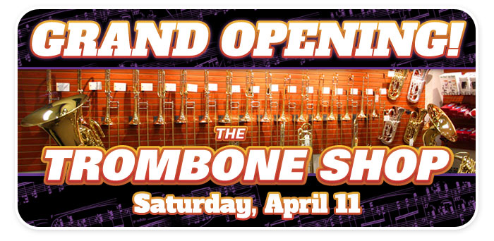 Grand Opening of The Trombone Shop at Schmitt Music Brooklyn Center!