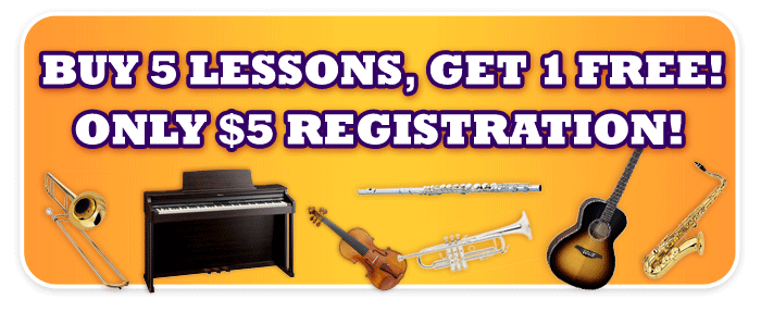 Back-to-School Music Lesson Deal at Schmitt Music stores!