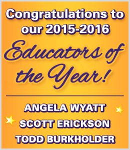 Congratulations to Schmitt Music's 2015-2016 Educators of the Year!
