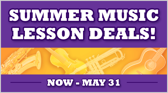Summer Music Lesson Deals at Schmitt Music