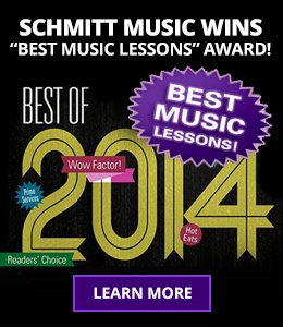 Schmitt Music Wins Best Music Lessons Awards