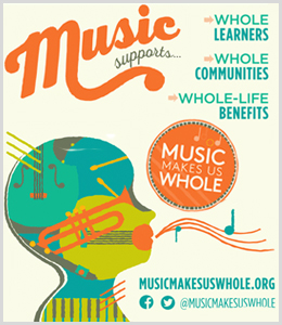 Schmitt Music is a proud supporter of Music Makes Us Whole – music education advocacy for Minnesota schools