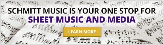 Schmitt Music is your one stop for Sheet Music and Media