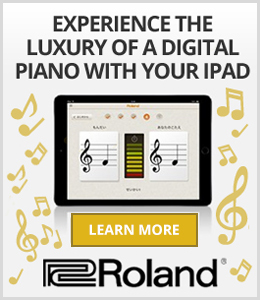 Roland - the company that invented the digital piano - presents the new Piano Partner App for iPad!