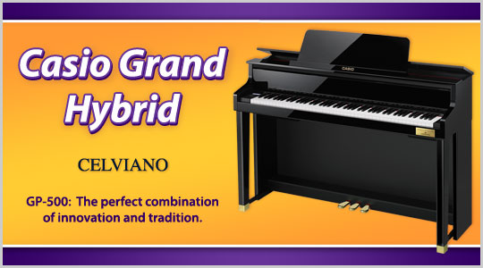 Casio Celviano Grand Hybrid GP-500 digital piano
