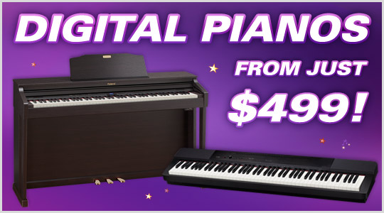 Digital Pianos from $499