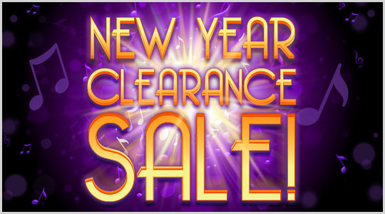 New Year Clearance Sale at Schmitt Music