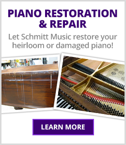Piano Restoration and Repair - Schmitt Music