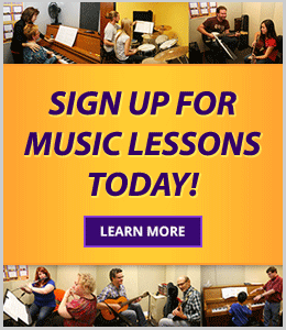 Sign up for private music lessons today at your Schmitt Music store
