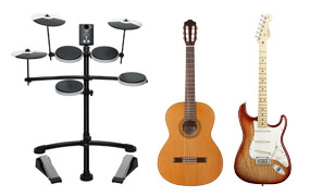 Other Instruments - Drums, Guitars