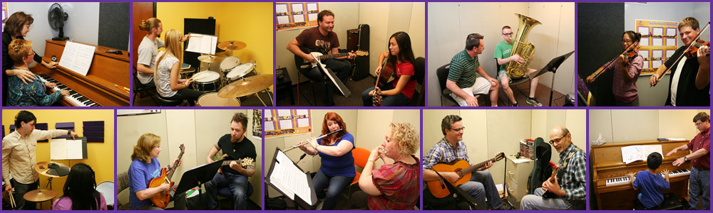 Music Lessons at Schmitt Music, Private music instruction