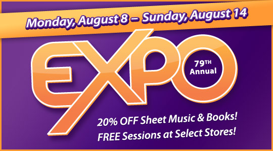Schmitt Music's 79th Annual Expo: Free Sessions and Print Music Deals!