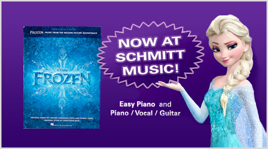 Frozen Music Book