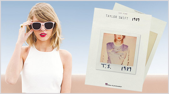 Taylor Swift 1989 - Hal Leonard