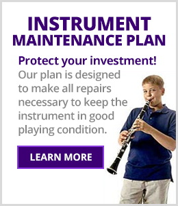 Schmitt Music Instrument Maintenance Plan