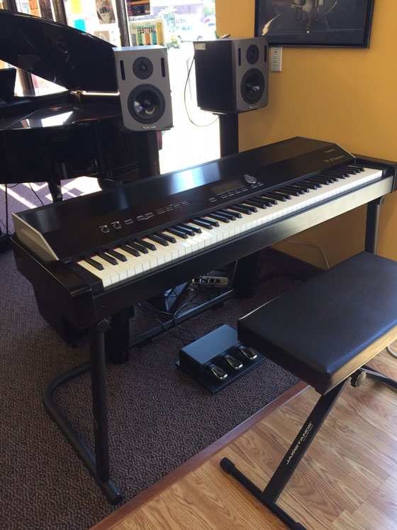 used roland v piano digital piano for sale schmitt music. Black Bedroom Furniture Sets. Home Design Ideas