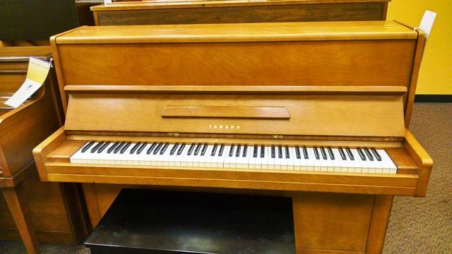 Used yamaha p2 upright piano schmitt music for Yamaha upright piano used