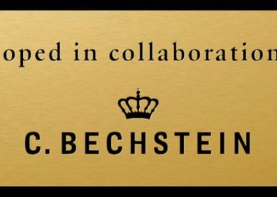 C. Bechstein nameplate