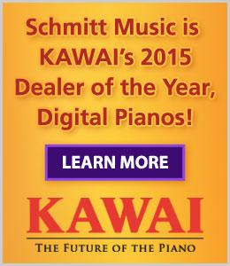 Schmitt Music is Kawai's 2015 Dealer of the Year, Digital Pianos!