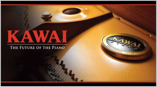 Kawai pianos at Schmitt Music - The future of the piano