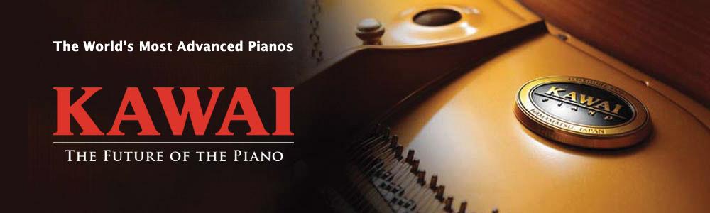 Kawai piano at Schmitt Music