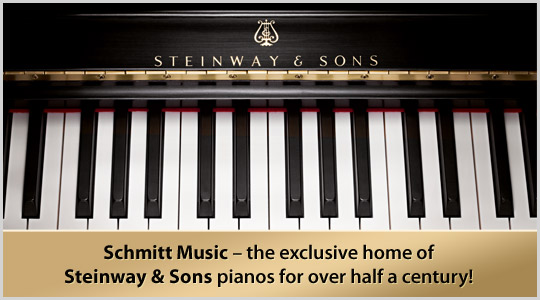 Schmitt Music - the exclusive home of Steinway & Sons pianos for over half a century!  Steinway piano